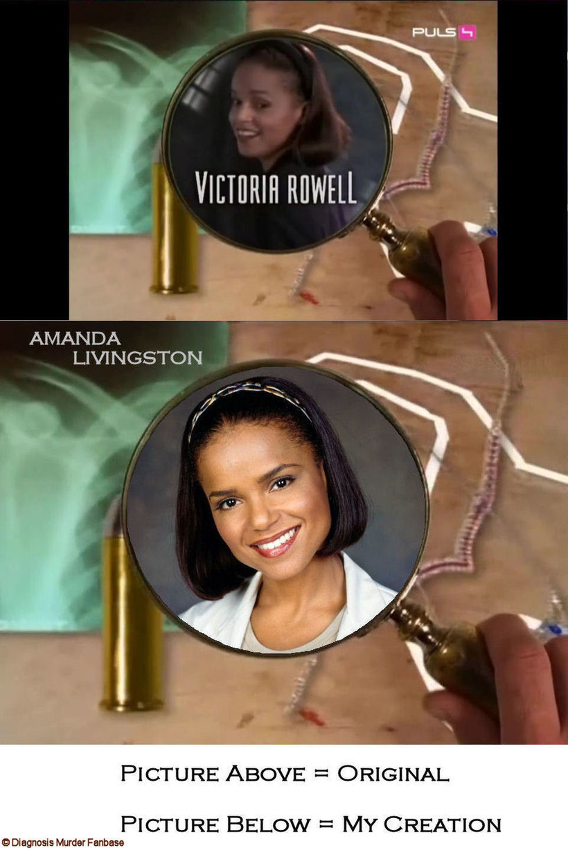 My Intro-version of Victoria Rowell as Dr. Amanda Bentley-Livingston.