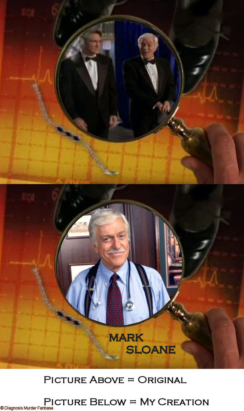 My Intro-version of Dick Van Dyke as Dr. Mark Sloan.