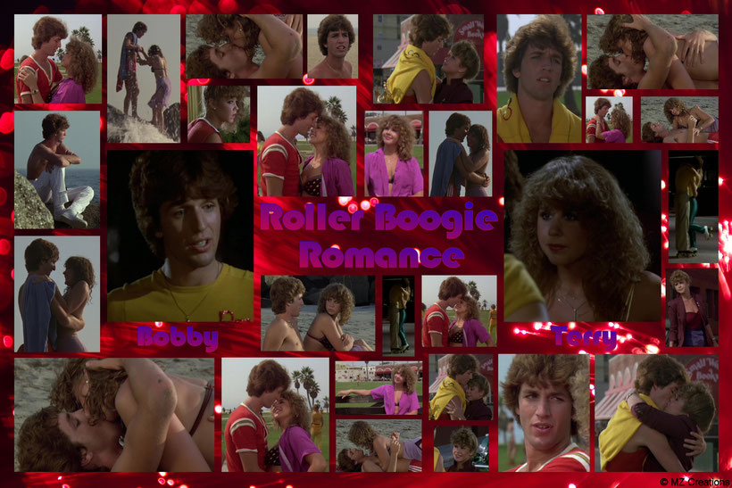 "Here's my creation ""Roller Boogie Romance - Bobby & Terry"" full with pics of their romantic love-scenes of the movie. BTW, all the pics you see are my own selfmade screenshots. ;-)"