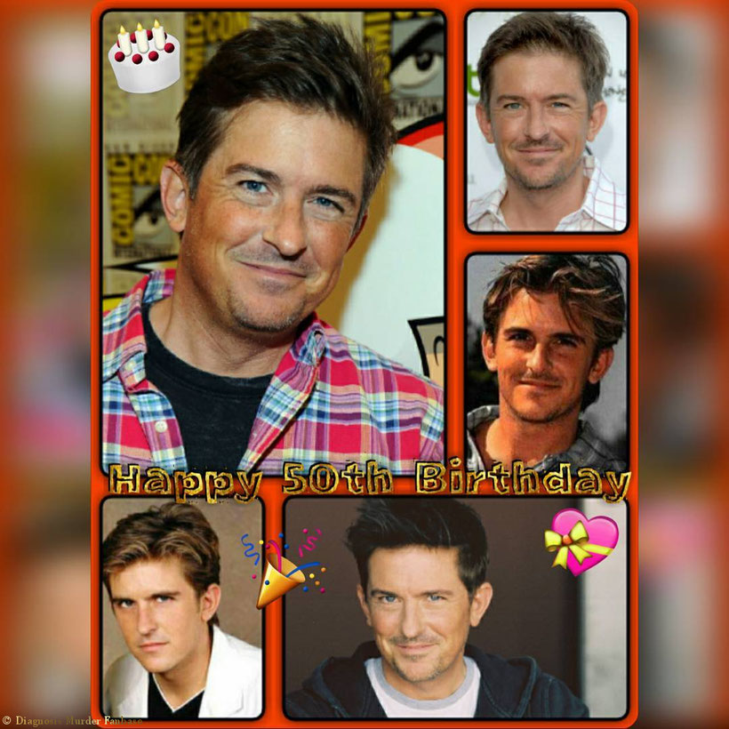 "So guys, that's another ""Happy 50th Birthday"" Creation I've made esp. for my ""Diagnosis Murder Fanbase"" IG-account. ;-)"