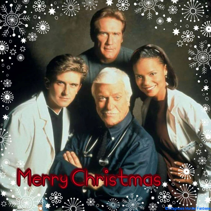 "That's my Christmas Creation of the whole Diagnosis Murder-cast which I've made in the year 2015. BTW, it's a creation I've made with the App ""Foto-Gitter"" for my Instagram-account ""Diagnosis Murder Fanbase""."