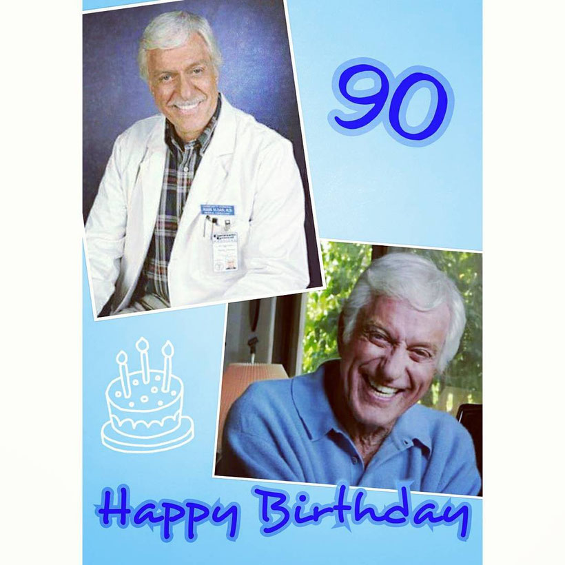 "This here was a very special Creation for Dick Van Dyke's 90's Birthday in the year 2015. I've made this one with the App ""Foto-Gitter""."