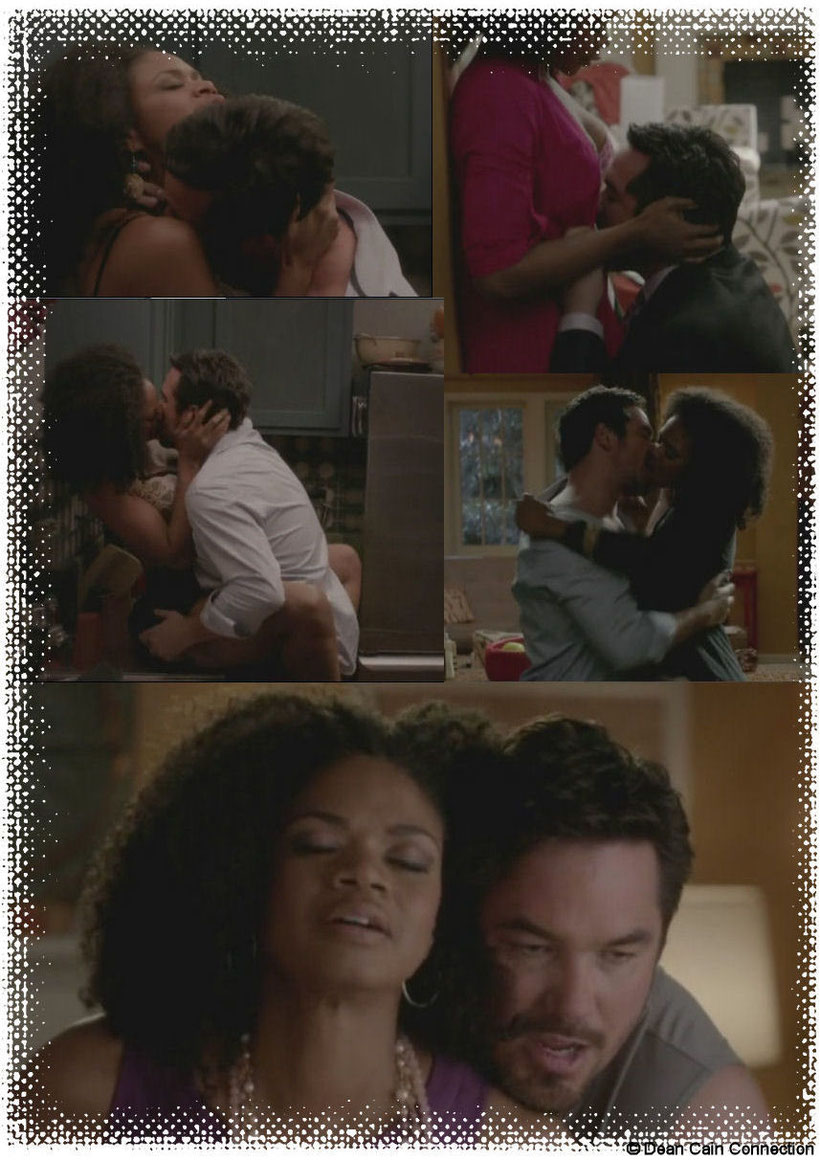 Now that collage is full with pics of Pete & Sloane's wild & very HOT sex they had after starting their romance again.