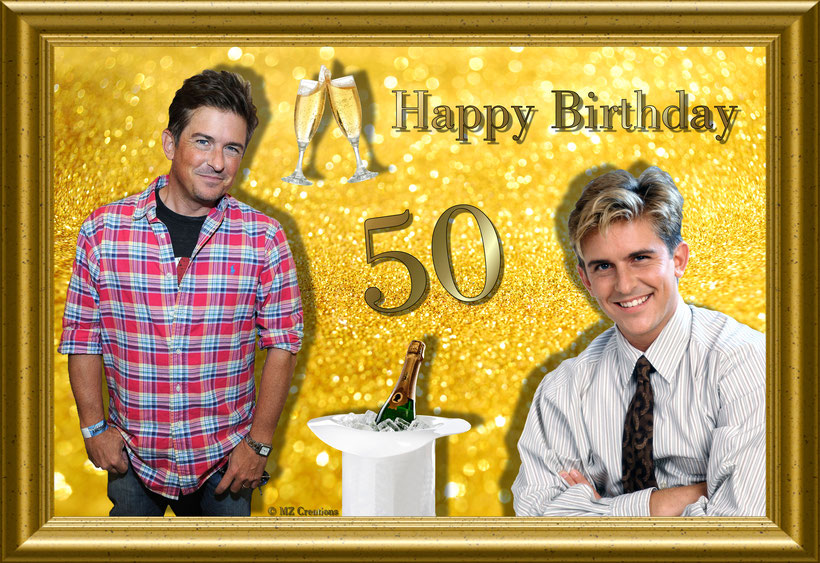 Guys, for Charlie Schlatter's 50th Birthday today/1st May 2016 I've made this very special creation. ;-)