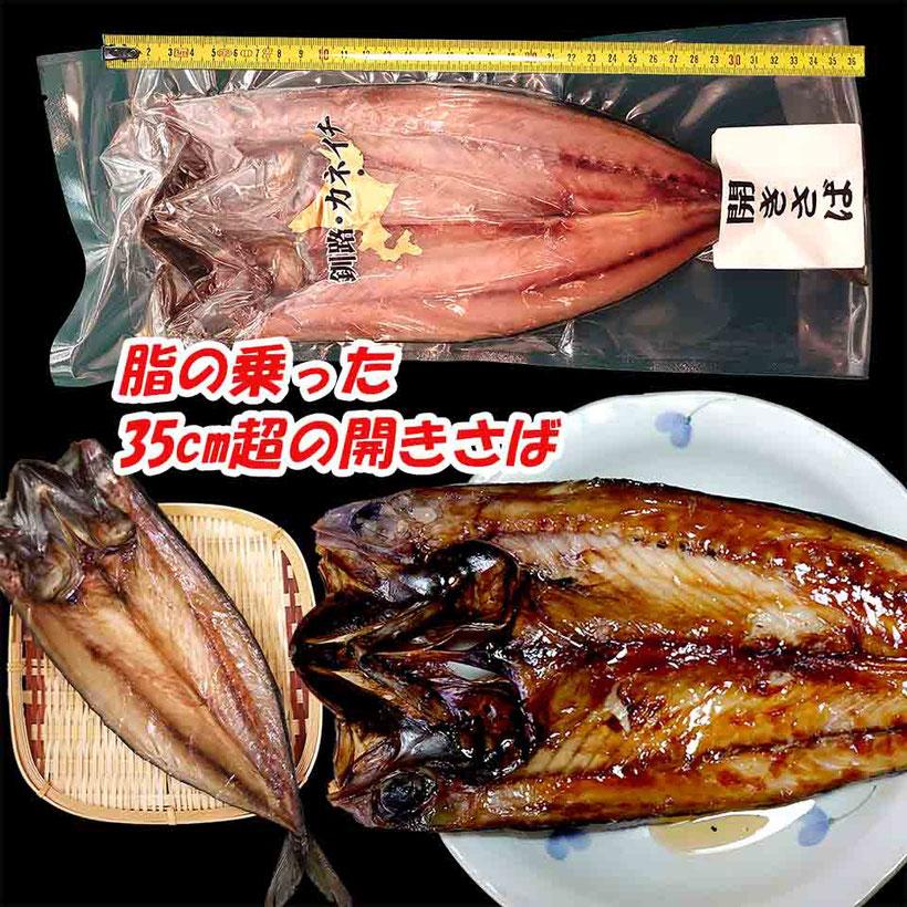 最高に美味しい北海道のジャンボ真サバ