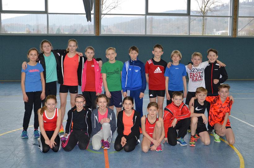LGA Alheimer Talentfördergruppe 2016 Sprint in Baunatal