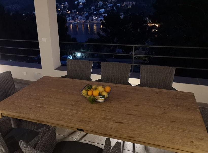 fantastische Aussicht, toller Blick, wunderschöner abendlicher Ausblick, Abendstimmung