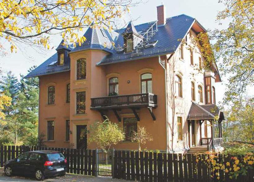 Villa Am Preißelpöhl 32, Plauen