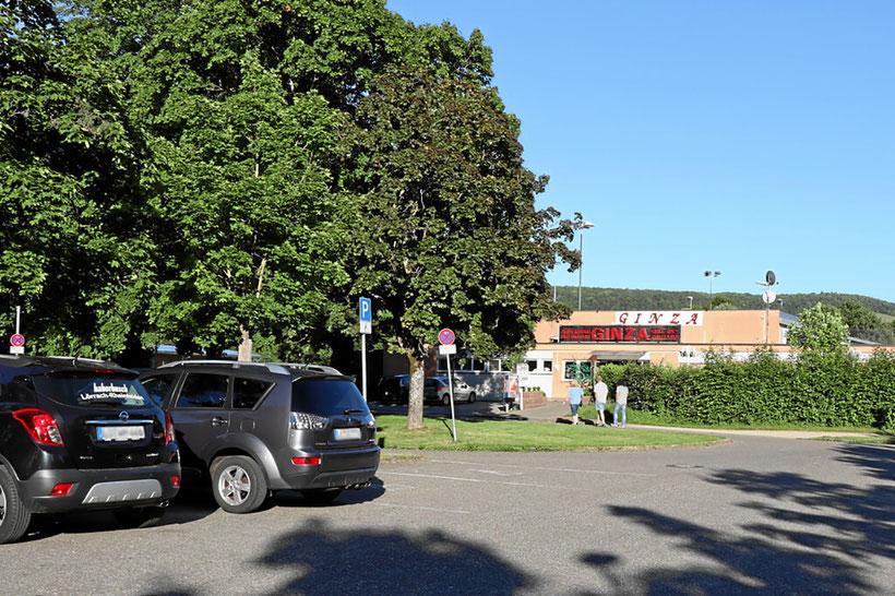 Kostenlos Parken beim Grütt-Stadion