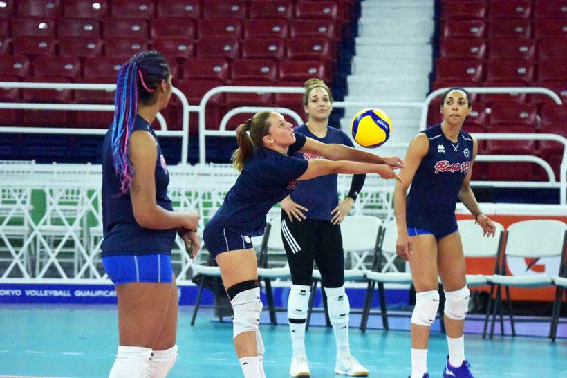 Las puertorriqueñas son 1 de los 4 equipos que compiten por un boleto disponible para los Juegos Olímpicos 2020 / Foto por Norceca