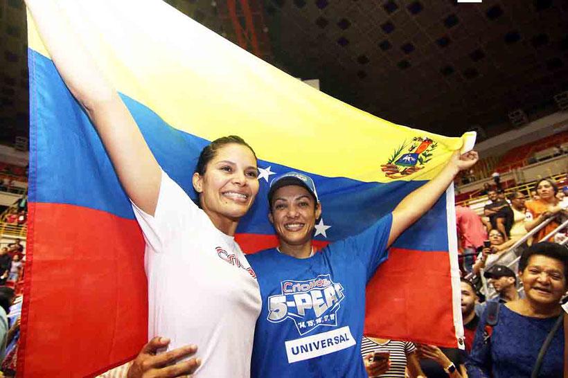 Florian y Oneida, claves en campeonatos de las Criollas / Foto por Heriberto Rosario