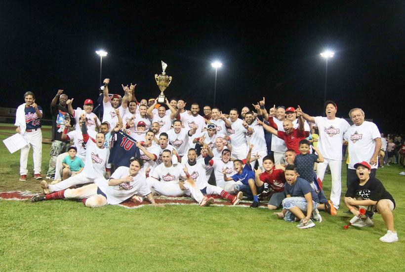 Los Mulos tienen campeonatos en las temporadas 1947, 1948, 1952, 1964, 1983, 1985, 1989, 1990, 1991 y 2019. / foto por Heriberto Rosario Rosa