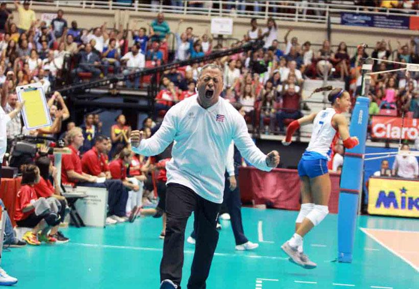 Momento historico cuando Nuñez clasifica a Rio 2016
