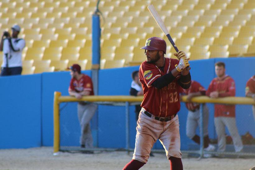 Mayagüez fue el primero en anotar, cuando marcó dos carreras en la primera entrada. / foto por Indios de Mayagüez