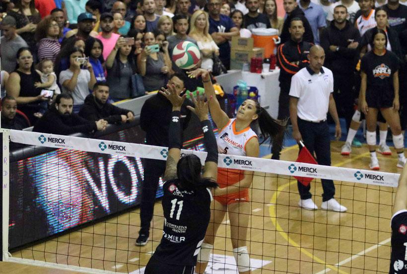 La mexicana Andrea Rangel marcó 38 en la victoria de su equipo en el primero juego de la Final ante Caguas / foto por Heriberto Rosario