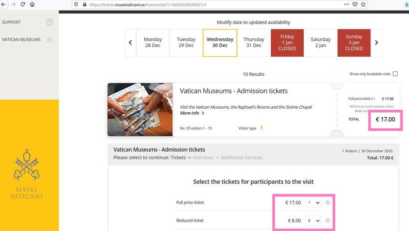 Билеты в Ватикан фото
