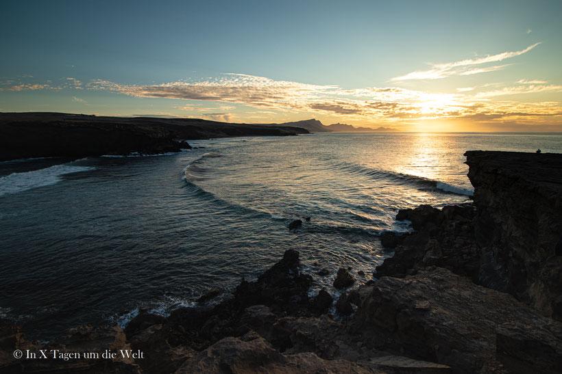 Fuerteventura Schönste Orte La Pared Sonnenuntergang