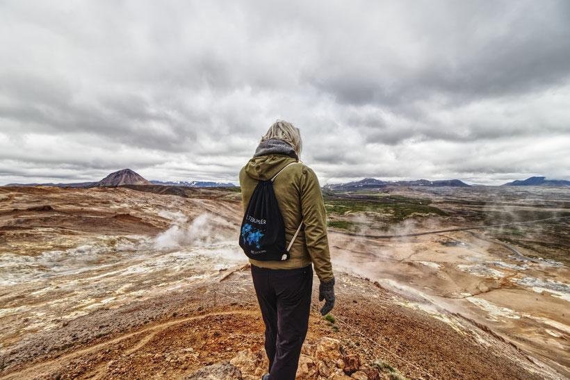 Namafjall, Geothermalgebiet, Hverir, Island