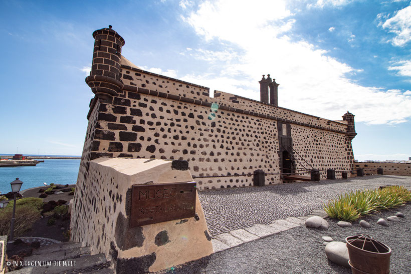 Lanzarote Cesar Manrique castillo de san jose