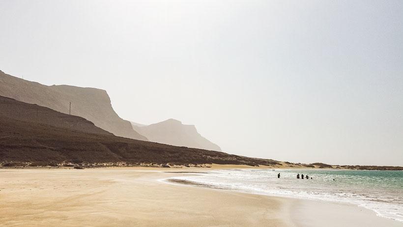 Lanzarote Playa de Risco Strand