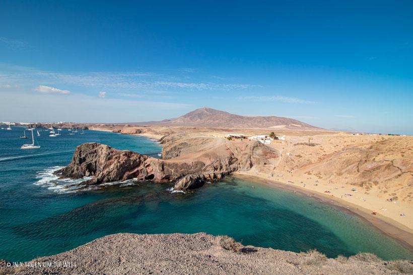 Lanzarote Strand Playa Papagayo