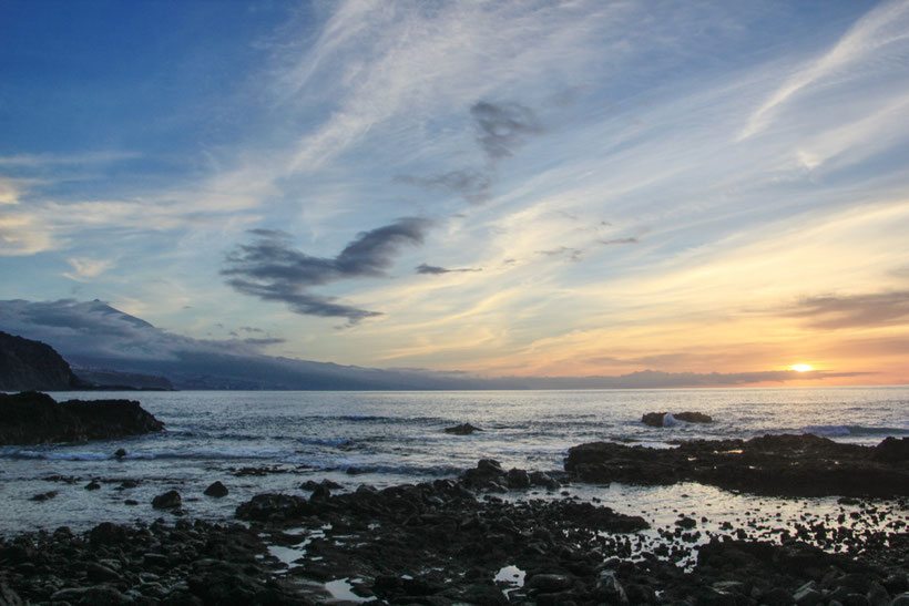 Juan Fernandez, Teneriffa, Sonnenuntergang