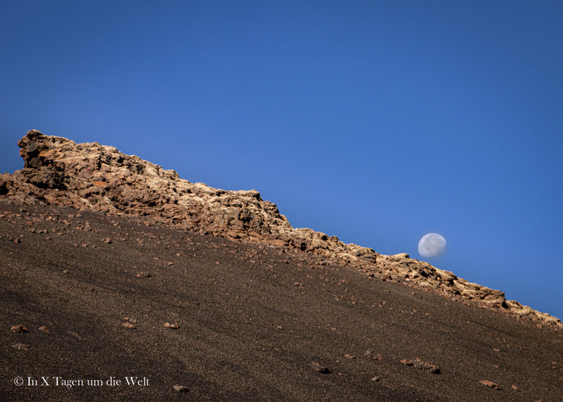 Lanzarote Caldera de los Cuervos