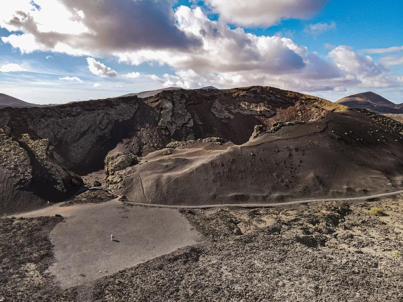 Lanzarote Sehenswürdigkeiten Vulkan