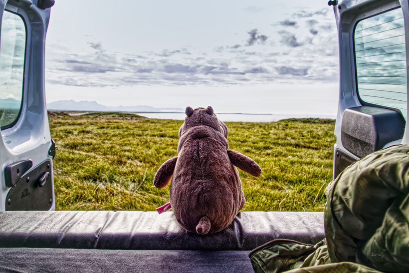 Top 5 Campingplätze, Camping Van, Island, Tradir