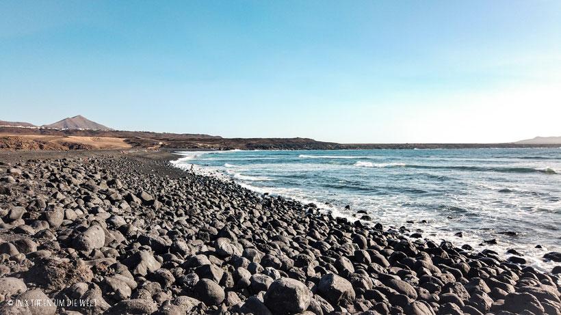 Lanzarote Strand Playa de Janubio