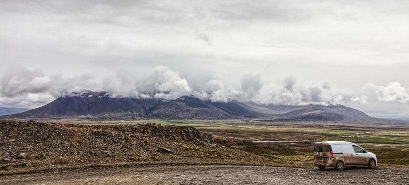 Borgarvirki, Vatnsnes, Island