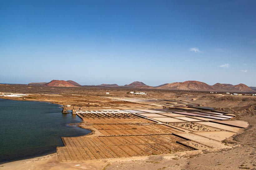 Lanzarote Saline Salz