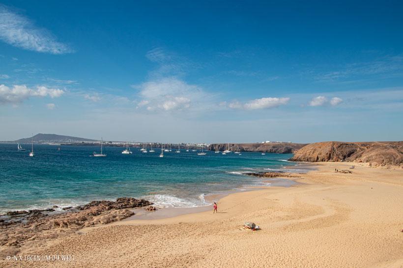 Lanzarote Strand Playa del Pozo