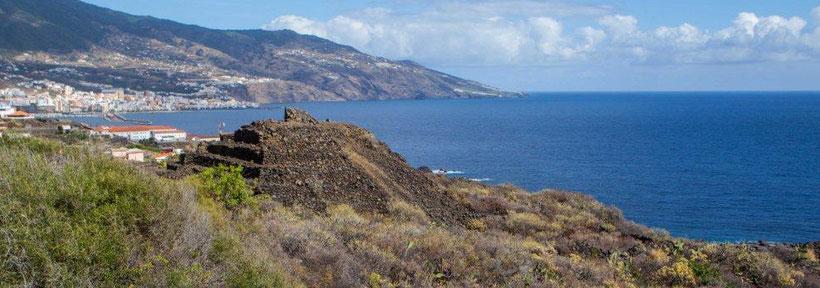 Stufenpyramide aus vermutlich vorspanischer Zeit auf La Palma / © Klaus Schindl