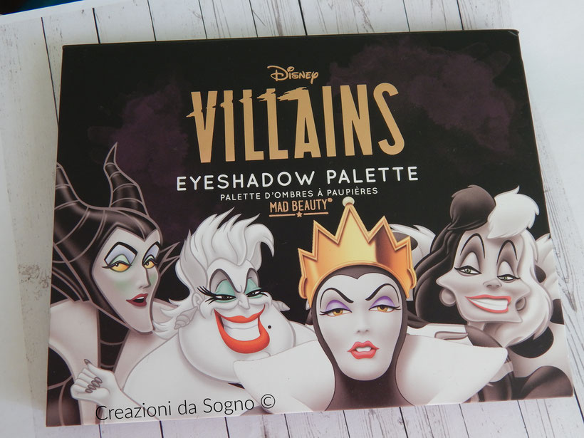 Palette Villains Disney
