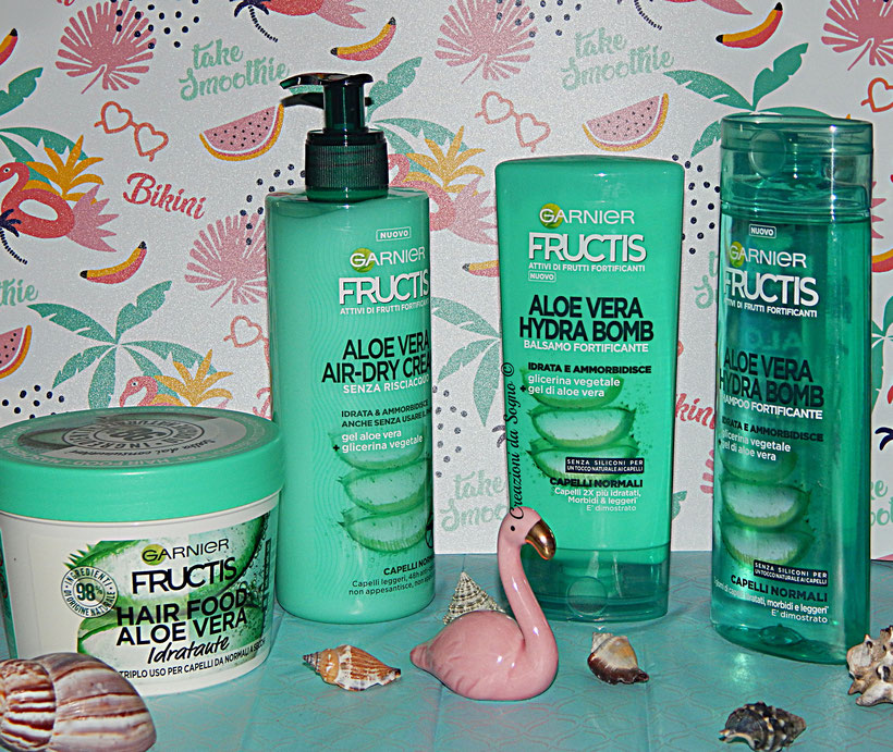 Fructis Garnier Aloe Vera Hair Care