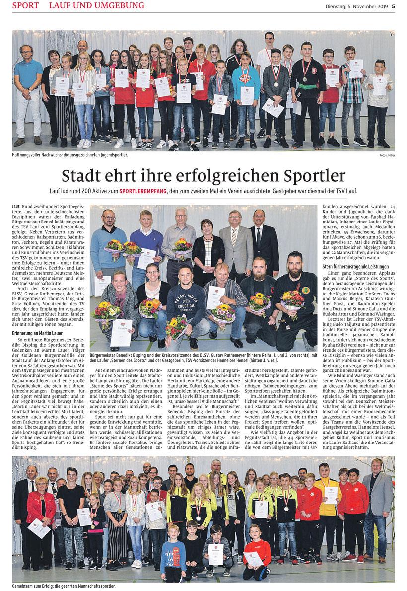 Sport, Lauf an der Pegnitz, TSV Lauf, Bujinkan Budo Taijutsu, Wakagi Lauf, Benedikt Bisping, Edmund Wasinger, Artur Wasinger, Hanne Hensel,