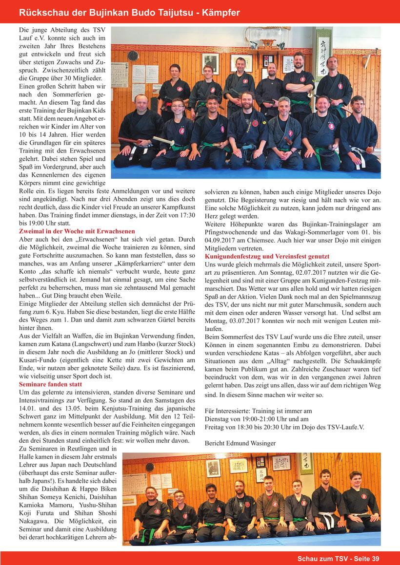 Bujinkan, Shidoshi, Edmund Wasinger, Kampfkunst Lehrer, Wakagi Dojo Lauf, Bujinan Budo Taijutsu, Kampfkunst, Samurai,