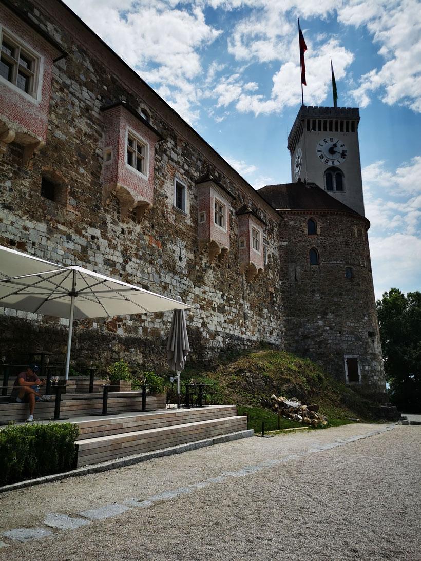 Ljubljana Burg Castle