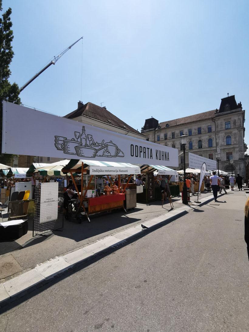 Odprta Kuhna Streetfood Market Ljubljana