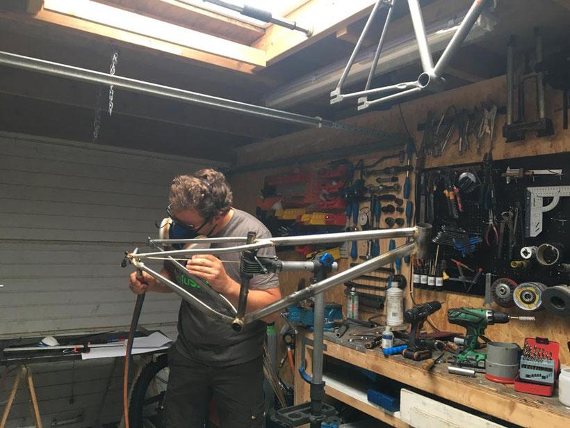 framebuilding, steel, handmade, dutchdesign