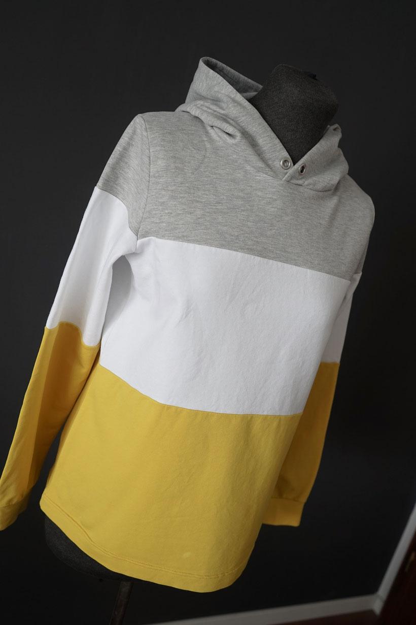 hoodie-naehen-schnittmuster-teilen-streifen-sweatshirt