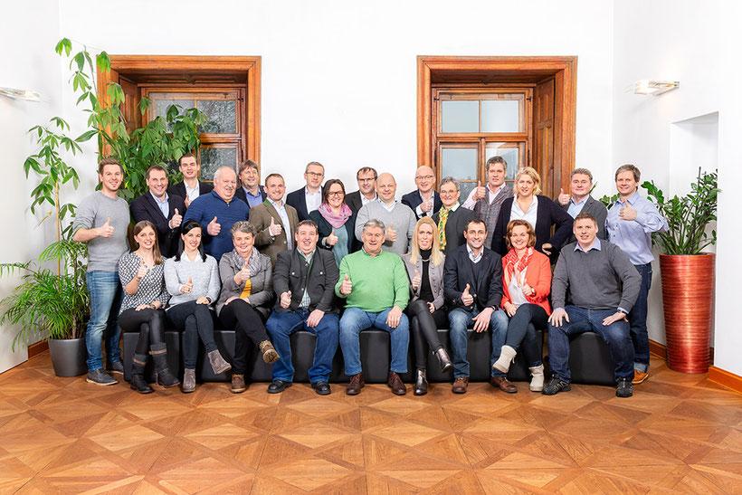 Daumen Hoch für ÖVP Puch - pro!PUCH: Mut & Zusammenhalt