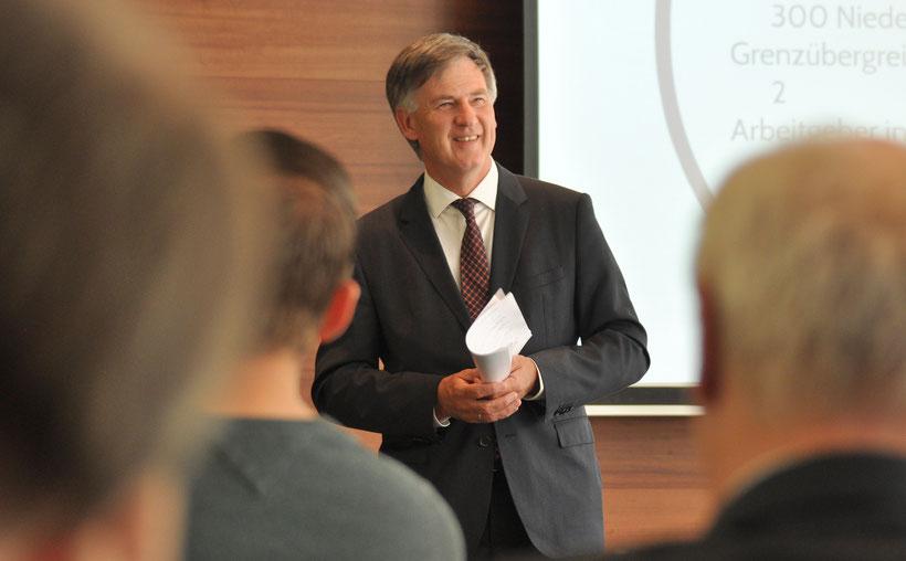 Cees Bijl erhofft sich durch das Projekt einen weiteren Schritt zur Schaffung eines grenzübergreifenden Arbeitsmarkts.