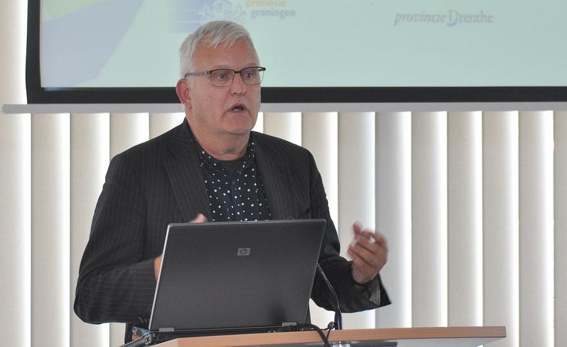 Emotionale Rede: Herrie Caspers von der Provinz Drenthe sieht große Chancen, dass ein grenzübergreifender Arbeitsmarkt im nördlichen Grenzgebiet Realität werden kann.