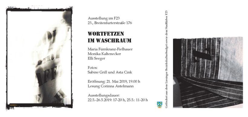 Ausstellung, Foto, Kunst, Wien, Vernissage, fzw-verein, Ankündigungsfolder