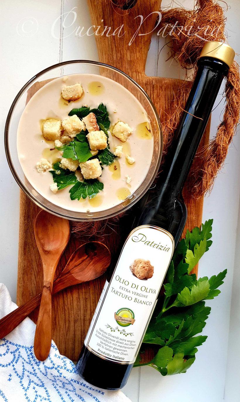 Maronensuppe mit Trüffel Olivenöl von Patrizia