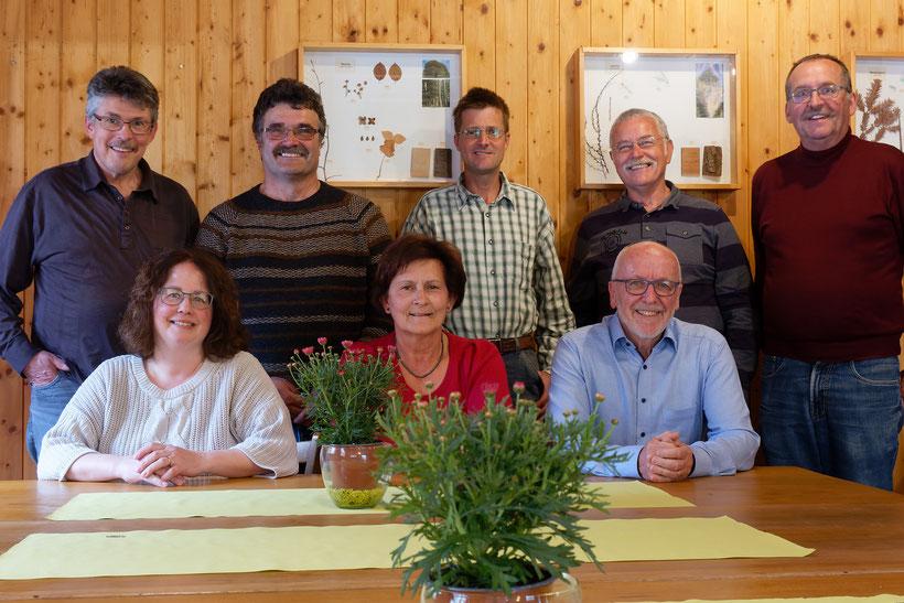 Der Vorstand anlässlich der Retraite vom 1. Mai 2021