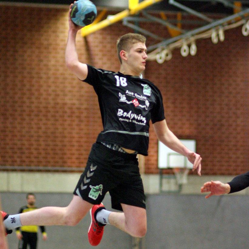 Auch Bastian Herzog konnte mit seinen zwei Toren die Niederlage gegen den Tabellenprimus nicht verhindern.