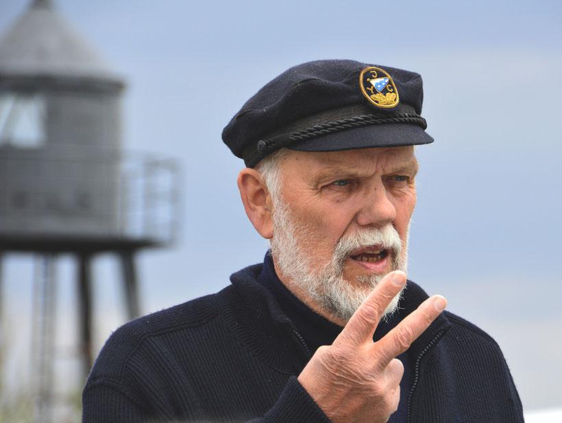 Anton Tapken, der Kapitän
